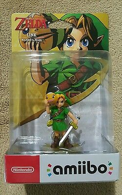Link Majora's Mask amiibo (Legend of Zelda, Nintendo) BRAND NEW AUS STOCK