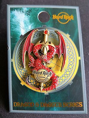 Vancouver Hard Rock Cafe Casino Dragon & Dagger Pin *** NEW - Limited Ed 200 ***