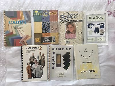 Knitting Books By Janet Spink, Kate Arklay.....