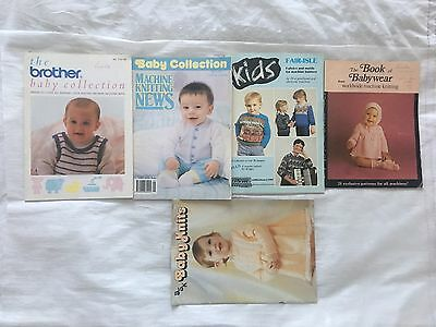 Knitting Books, The Brother Baby Collection......