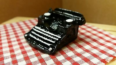 dolls house accessories 12th scale,  Remington TYPEWRITTER- by Debbie