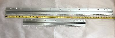 MACHINE KNITTING Ribbing Attachment 2 X Cast on Combs BROTHER SILVER+