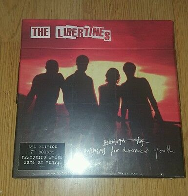 """The Libertines- Anthems for doomed youth vinyl boxset 7"""" brand new"""
