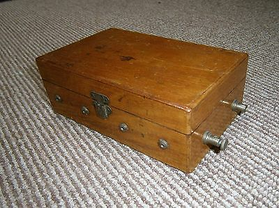 Antique Electric Shock Therapy Machine