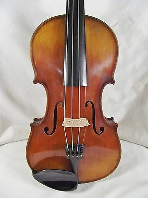 j4. FINE QUALITY OLD FULLSIZE VIOLIN. MITTENWALD. GOOD PLAYING ORDER.