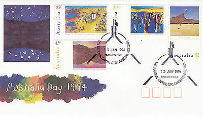 Australia 13 January 1994 Australia Day Official First Day Cover Shs