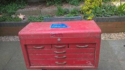 Mechanics Heavy Duty Six Drawer Tool Chest Some Tools Included