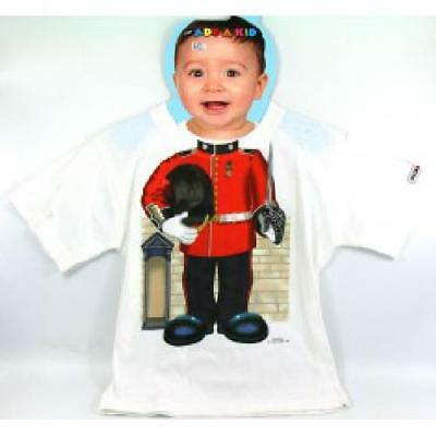 Quality Guardsman Queen Guard Army t-shirt 4/5 Years Old Kids Costume