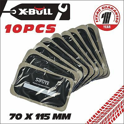 70x115MM Puncture Repair Inner Tube Tyre Patches 10pcs  Radial Tyre Repair Patch