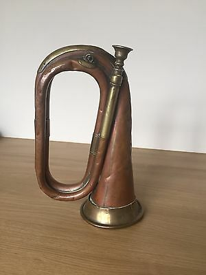G Potter & Co Aldershot Vintage Brass/copper Bugle