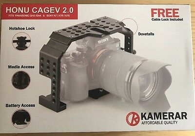 New, Unopened Honu Cage V2.0 For GH3 GH4 A7 A7S A7R Cameras