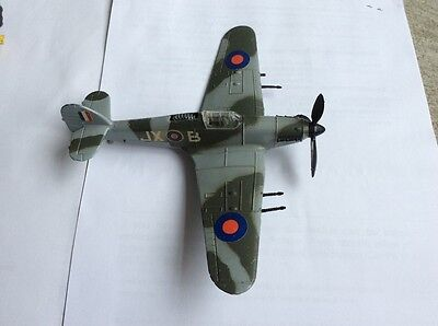 Vintage Dinky Hawker Hurricane Mk2, 1970s good condition