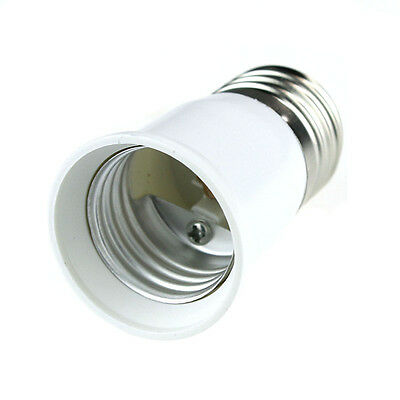 E27 to E27 Extension Base LED Light Lamp Bulb Adapter Socket Converter