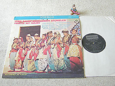 TÜRK SAN´AT MÜZIGINDEN SECMELER (Turkish Hit Parade) US LP REQUEST SRLP 10075