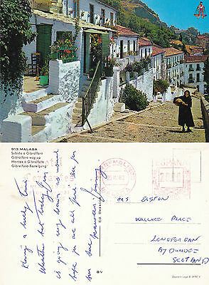 1982 Typical Street In Spain Colour Postcard