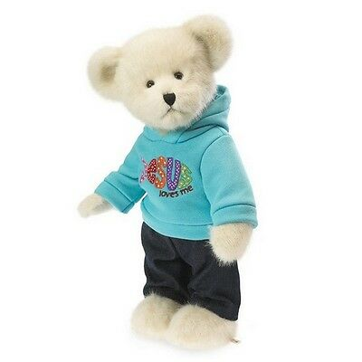Boyds Bears -  Jesus Loves Me Teddy Bear - 12 Inch jointed, for ages 12M+