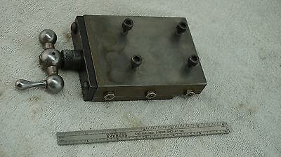 "Precision Cross Slide For Lathe Mill Drill 3"" x 5"" Bed x 1-1/2"" Travel"