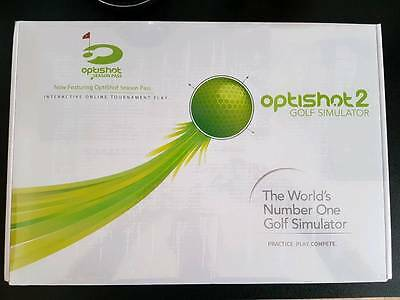 Optishot 2 Golf Simulator Golfsimulator Launch Monitor NEU in ungeöffneter OVP