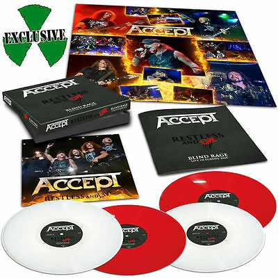 Accept - Restless And Live (Boxset, Die Hard Edt., Red & White Vinyl, 300 Copies
