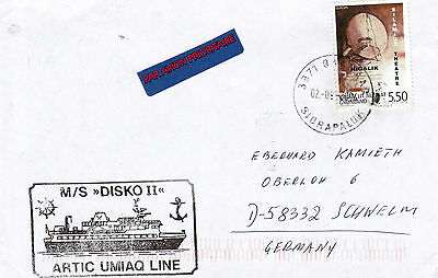 Greenland Arctic Cruise Ship Ms Disko Ii A Ships Cached Cover