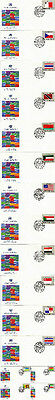 United Nations 1981 Flags Set Of All 16 First Day Covers New York Shs