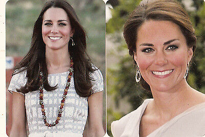 2 Wide  Playing Swap Cards  Kate Middleton  - Modern Cards - Royalty #2