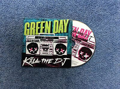 Green Day Radio promo CD singles Kill the DJ  not U2