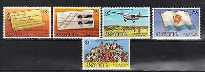 ANGUILLA. SEPARATION FROM St KITTS 1980 MNH