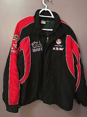 Mens Holden Racing Team padded jacket. Approximate size large. Good condition.