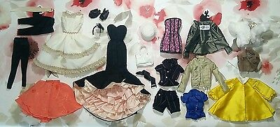 Outfit Fashion Royalty Barbie collector silkstone and Poppy Parker dress