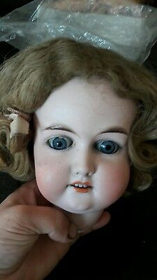 Antique German Majestic 30 Porcelain Doll Head