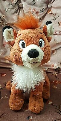 Disney tod soft plush toy the fox and the hound disneyland Paris