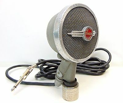 Working vintage Philips 9549 microphone 1950s heavy Mic old 50s Made in Holland