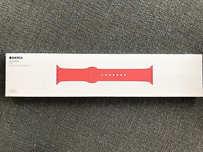Genuine Apple Watch Sports Band - Pink 42mm