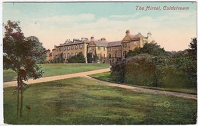 COLDSTREAM - The Hirsel - Edwardian 1911 used postcard