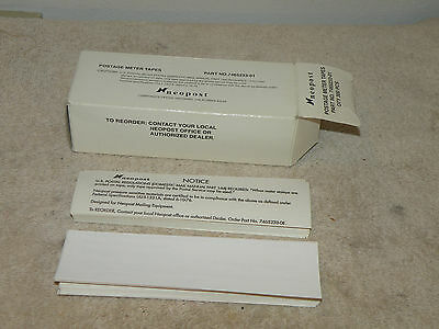 Postage Meter Labels for Neopost IJ series Partial Box 150+ Pieces 7465233-01