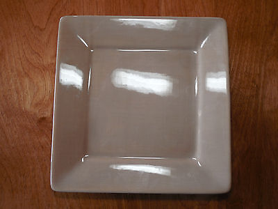 Tabletops MISTO LIGHT TAUPE SQUARE Set of 5 Dinner Plates 10 1/2""