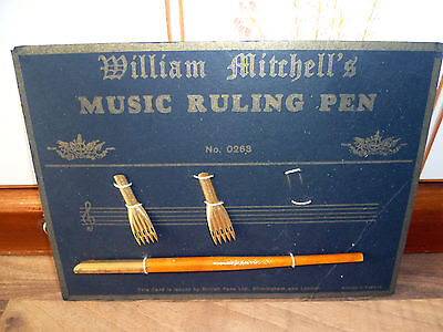 William Mitchell's MUSIC RULING PEN no. 0268
