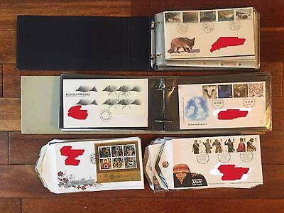 192 Royal Mail First Day Covers FDCs 1992-2009