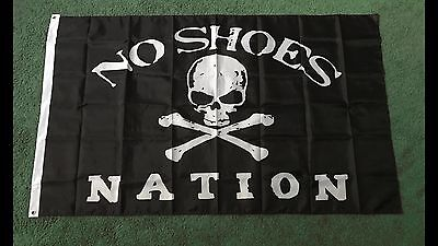 3x5 Foot Kenny Chesney No Shoes Nation High Quality Flag Banner W/ Grommets