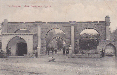 Cyprus Postcard Famagusta Old Lusignan Palace By Foscolo No 20