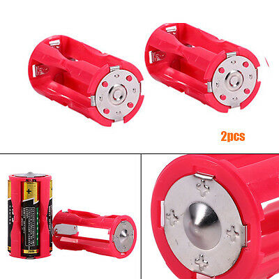 Parallel Cell Battery Holder 1.5V Case Box Convert 4 AAA to 1 Durable Hot