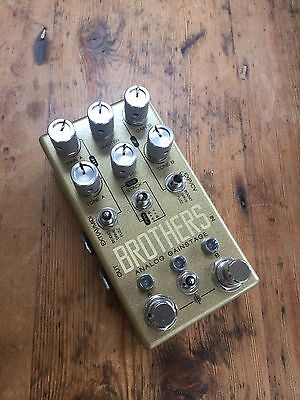 Chase Bliss Brothers Analogue Gain Stage Drive Fuzz Boost Guitar Effects Pedal