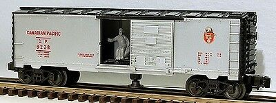 Lionel 6-9228 Canadian Pacific Operating Box Car O Scale Model Trains