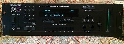 Ensoniq Eps-16 Plus Sampler - Rack Great Condition, Low$ With Scsi Loaded!!!