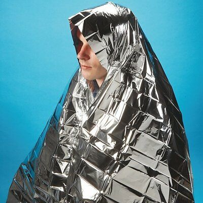 Metallic Survival Hypothermia First Aid Emergency Disposable Space Foil Blanket