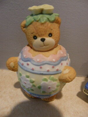 Lucy & Me Bear - Pastel Easter Egg