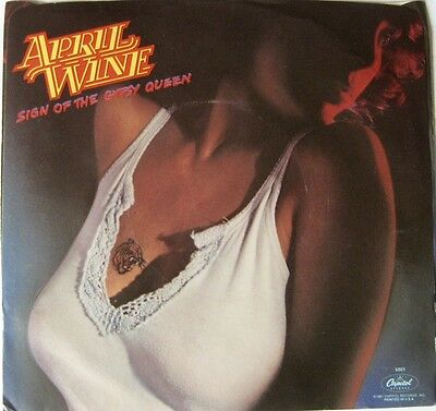 April Wine: Sign Of The Gypsy Queen 45RPM Capital # 5001