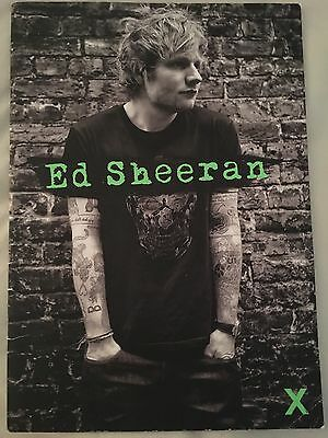 Ed Sheeran X Tour Programme