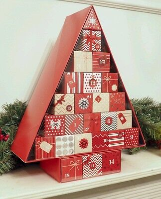 Empty M&S Marks and Spencer Advent Calendar 2016 FILL WITH YOUR OWN GIFTS